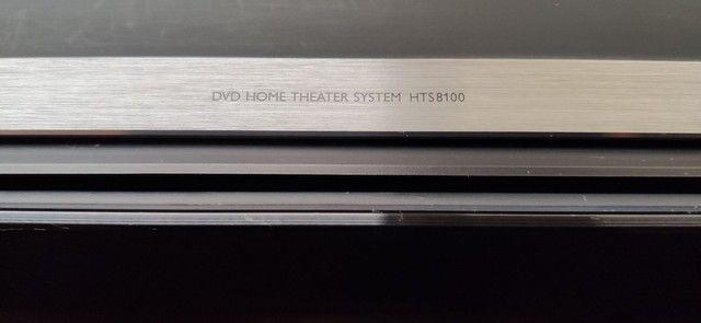 Philips HTS8100 Soundbar com Subwoofer SW8100/59 (não liga) - Foto 6