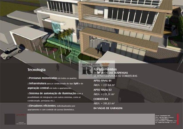 Apartamento com 4 dormitórios à venda, 226 m² por R$ 2.034.000 - Setor Central - Rio Verde - Foto 6