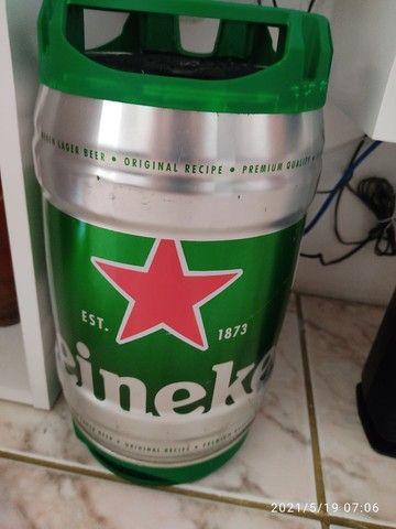 Barril Heineken-SOM 200W RMS com sub . - Foto 5