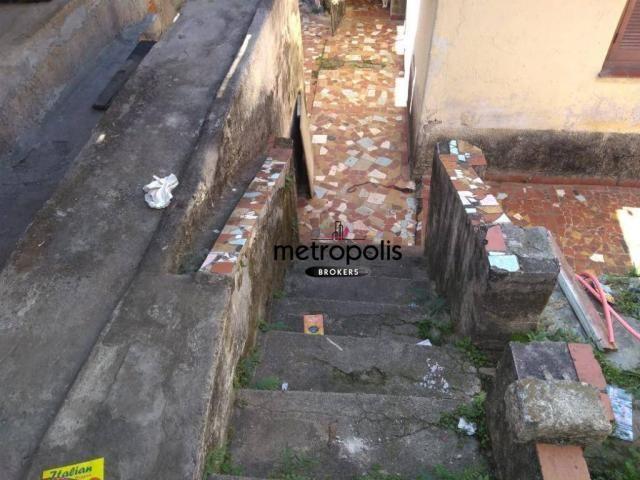 Terreno à venda, 210 m² por r$ 340.000,00 - nova gerti - são caetano do sul/sp - Foto 10