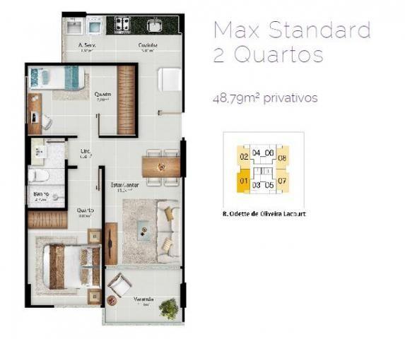 Apartamento para venda em vitória, jardim da penha, 2 dormitórios, 1 suíte, 2 banheiros, 2 - Foto 8