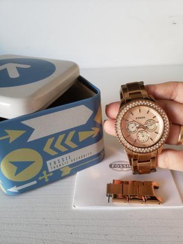 41a6636f48e Relógio Fóssil Original