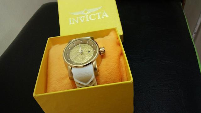 3db460634d2 Relógio Invicta Yakuza S1 Dragon Dourado com Branco - Bijouterias ...