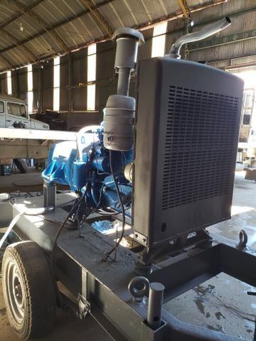 Gerador de 40 KVA com motor Perkins diesel 4 cilindros - Foto 5