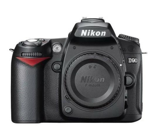 Câmera(corpo) D90 Nikon