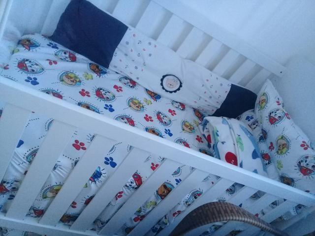 Vendo berço cama completo