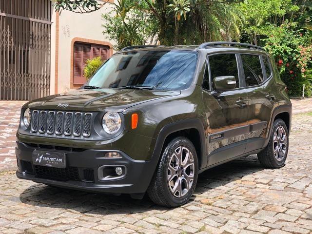 Jeep Renegade Longitude 1.8 Flex Automática - Único dono - Baixa KM!
