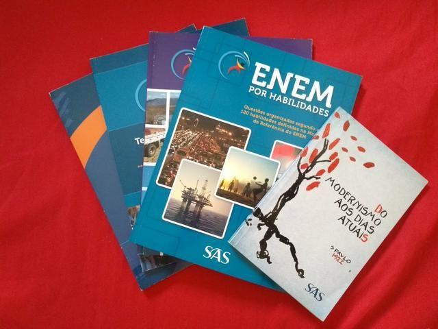 Livros revisão Enem