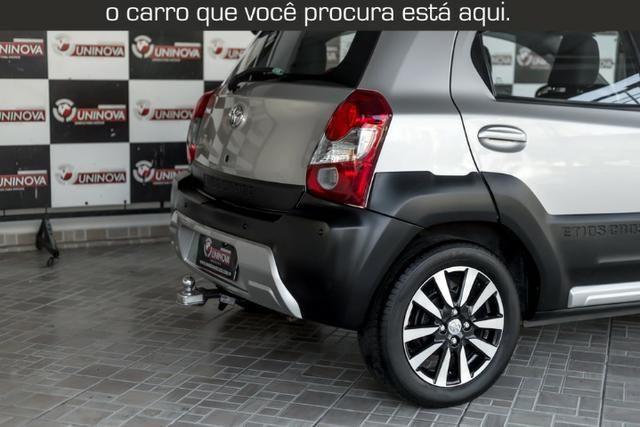 Toyota Etios Cross 1.5 Automático ( 16.000 km Com Kit Gas ) - Foto 7