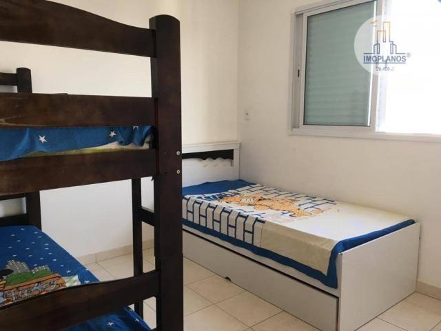 Apartamento com 2 dormitórios à venda, 76 m² por r$ 270.000 - campo da aviação - praia gra - Foto 17