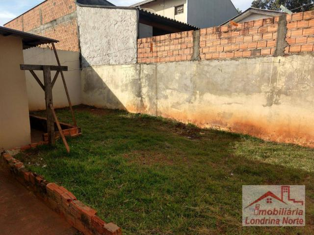 Casa com 3 dormitórios para alugar, 65 m² por R$ 650/mês - Conjunto Vivi Xavier - Londrina - Foto 5