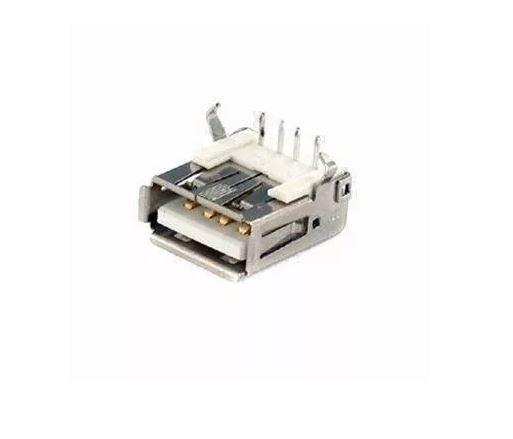 COD-CP36 KIT 3 Unidades Conector Usb Fêmea Tipo A 4 Pinos Dip Arduino Automação Robotica - Foto 2