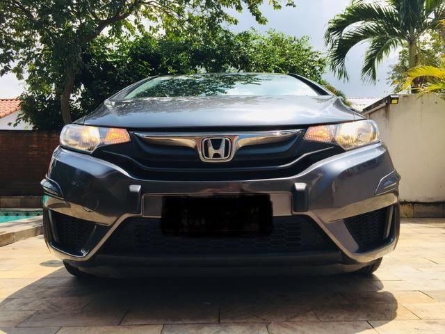 Honda Fit automático com couro e multimedia, ún.dona com 60 mil km!!!! - Foto 7