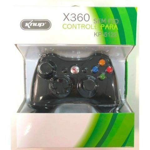 Controle Xbox 360 Sem Fio ( Loja Na Cohab -Total Segurança na Sua Compra. Adquira Já