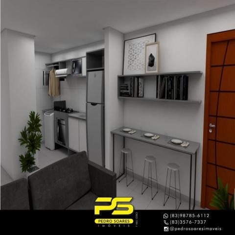 Apartamento com 2 dormitórios à venda, 61 m² por R$ 122.000 - Paratibe - João Pessoa/PB - Foto 14