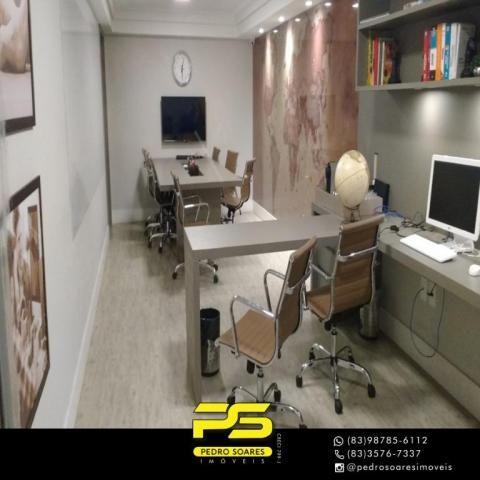 Apartamento com 2 dormitórios para alugar, 60 m² por R$ 3.500,00/mês - Tambaú - João Pesso - Foto 13
