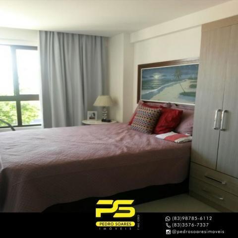 Apartamento com 2 dormitórios para alugar, 60 m² por R$ 3.500,00/mês - Tambaú - João Pesso - Foto 12