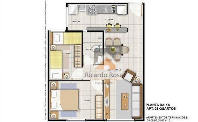 Apartamento c/ 3 quartos, suíte ótima estrutura para lazer no São Jorge!!! - Foto 16