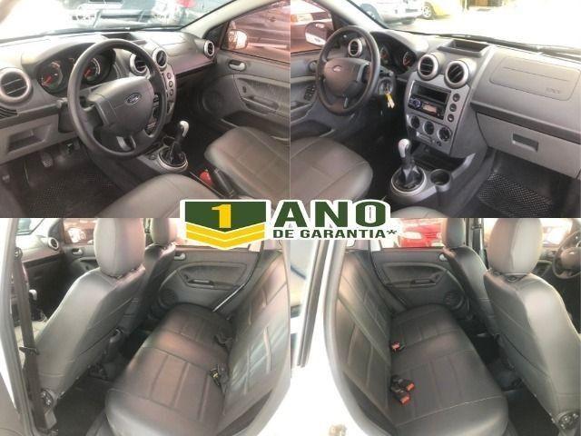 Fiesta Sedam 1.6 Completo + GNV V geração ótimo estado geral entrada R$ 3990,00 + 48 X - Foto 18