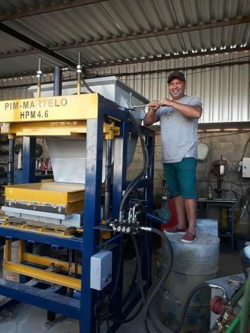 Máquina de bloco e paver - Foto 3