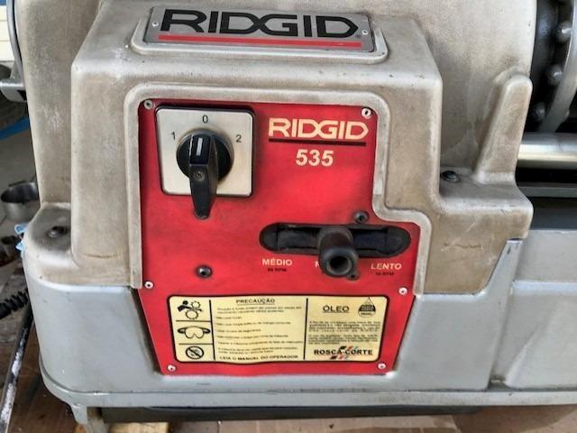 Rosqueadeira Elétrica Ridgid 535-t - Foto 3