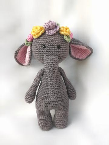 Amigurumi Pattern Premium: Elephant Haru – Tarturumies   480x360