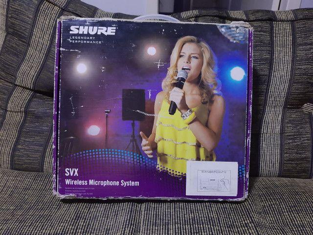 Microfone HeadSet Shure sem fio - Foto 6