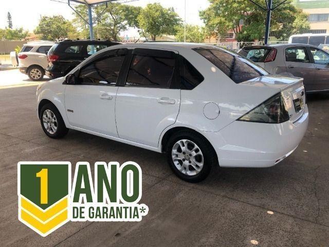 Fiesta Sedam 1.6 Completo + GNV V geração ótimo estado geral entrada R$ 3990,00 + 48 X - Foto 3