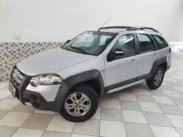 Fiat Palio Weekend Adventure 1.8 Flex 2012 Prata Manual