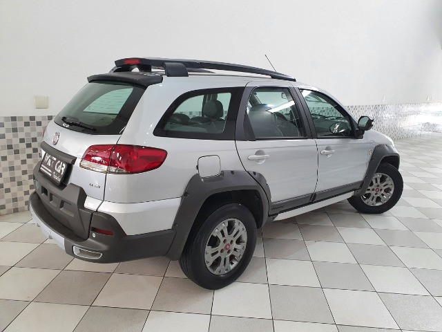Fiat Palio Weekend Adventure 1.8 Flex 2012 Prata Manual - Foto 2