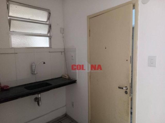 Kitnet com 1 dormitório para alugar, 38 m² por R$ 700,00/mês - Centro - Niterói/RJ - Foto 9