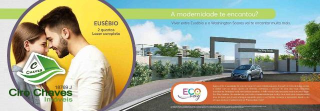 Apartamento à venda, 40 m² por R$ 150.900,00 - Centro - Eusébio/CE - Foto 11