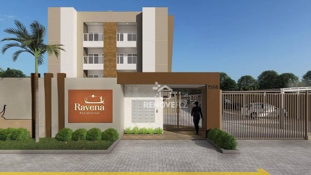Apartamento com 2 dormitórios à venda, 64 m² - Centro - Foz do Iguaçu/PR