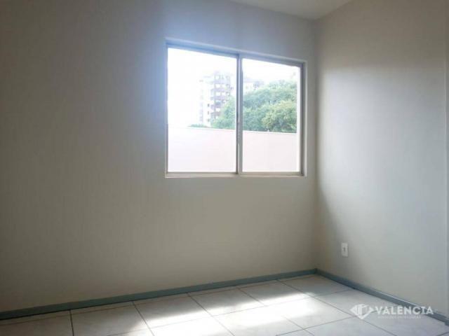 Apartamento com 1 Suíte + 2 Quartos para alugar no edifício Girassol por R$1100,00 - Rua P - Foto 4