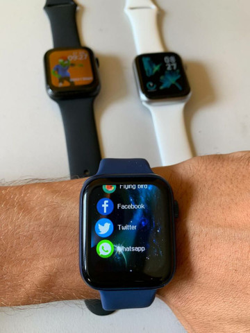 Relógio Smartwatch AK76 PRO Versão 2021 - Foto 5