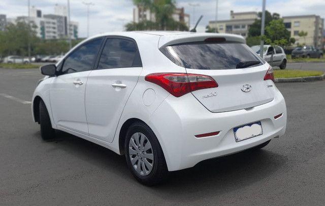 Hyundai HB20 - 1.6 Conforte Branco - Kit GNV - Foto 8