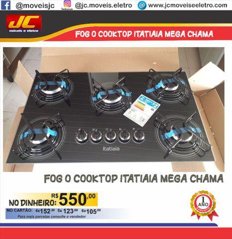 Fogão cooktop Itatiaia mega chama    pl