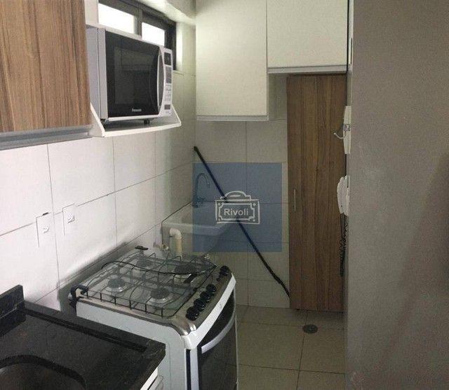 Apartamento com 1 dormitório para alugar, 35 m² por R$ 1.900/mês - Boa Viagem - Recife/PE - Foto 12
