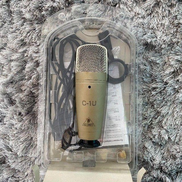 Microfone Behringer C-1u Condensador Usb - Foto 2