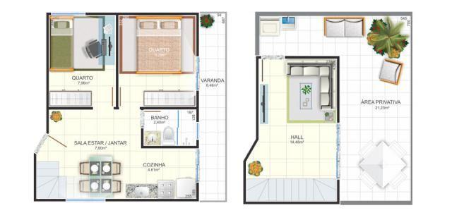 Apartamento à venda com 2 dormitórios em Dom bosco, Belo horizonte cod:1059 - Foto 2