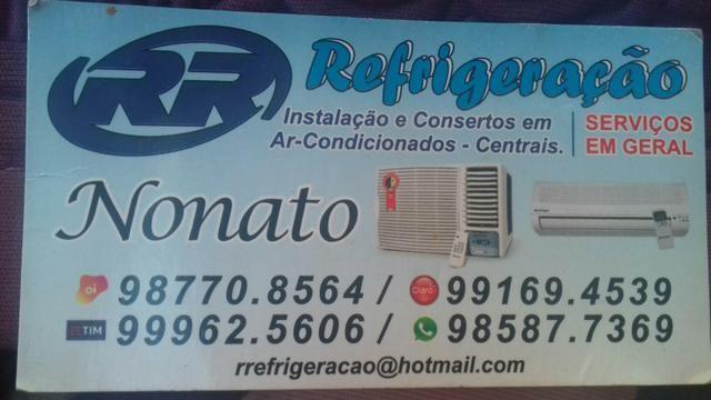 Instalação e consertos em ar-Condicionados