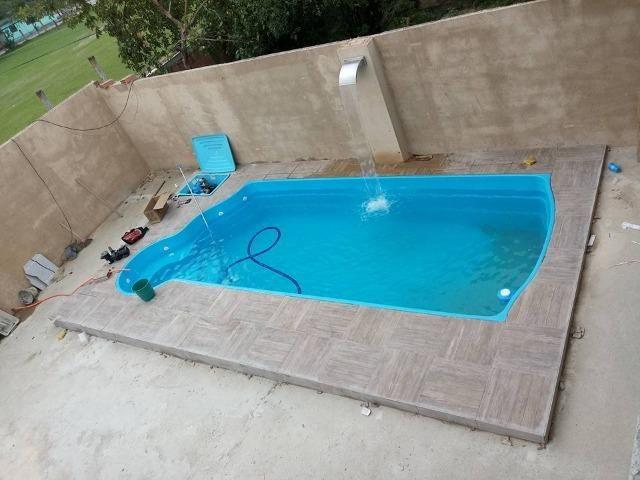 Piscina 7 50x3 20x1 40 Prainha Materiais De Construcao E Jardim