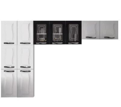 Belissima Cozinha De Aço 11 Portas Bem Espoçosa(Entrega+Montagem+Instalação)989,00