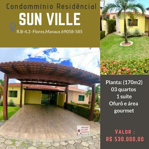 Sun ville 3 quartos 1 suíte com OFURÔ (semi-mobiliado)