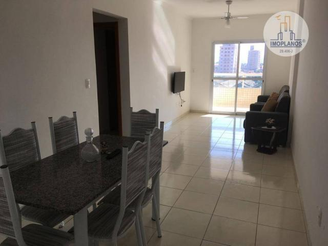 Apartamento com 2 dormitórios à venda, 76 m² por r$ 270.000 - campo da aviação - praia gra