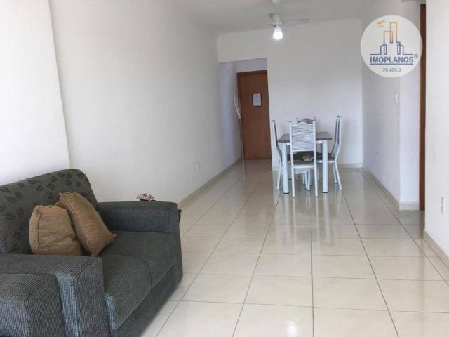 Apartamento com 2 dormitórios à venda, 76 m² por r$ 270.000 - campo da aviação - praia gra - Foto 2