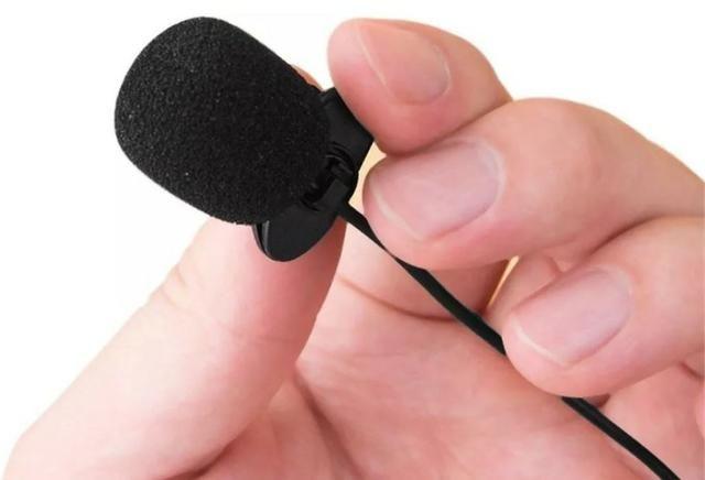 COD-AP63 Mini Microfone De Lapela P/ Palestras 3,5mm Arduino Robotica - Foto 3