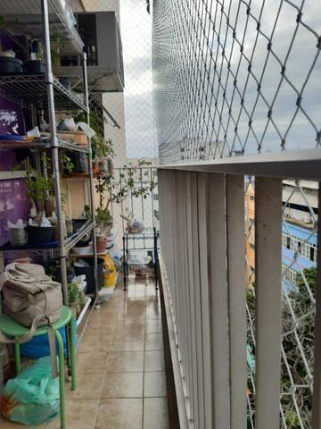 Largo da 2ª feira, varanda, 2 dorms, dep completa e vaga - Foto 2