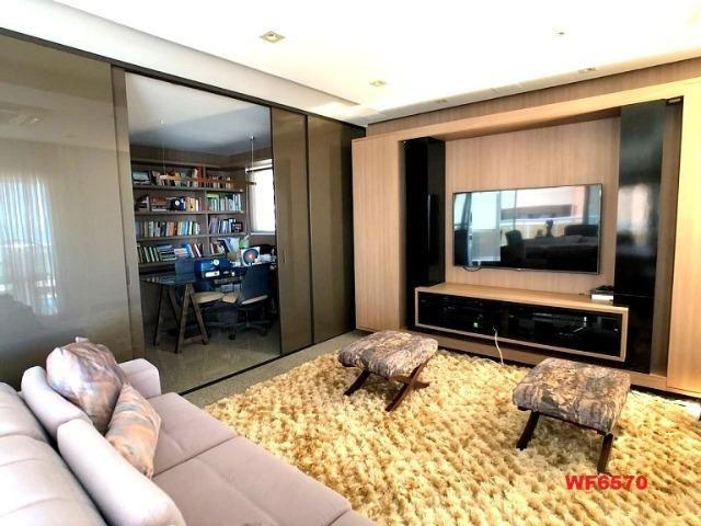 Bossa nova, apartamento no Meireles, 5 suítes, 5 vagas de garagem, 400m², vista mar - Foto 4