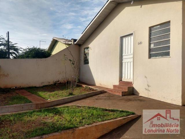 Casa com 3 dormitórios para alugar, 65 m² por R$ 650/mês - Conjunto Vivi Xavier - Londrina - Foto 2